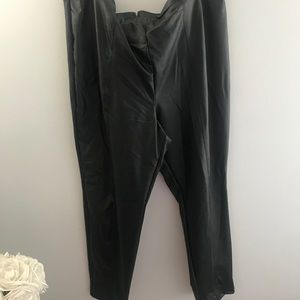Charlotte Russe Plus Faux Leather Pant